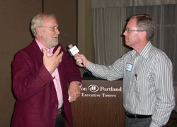 Terry Whiteside and Brownfield's Ken Anderson
